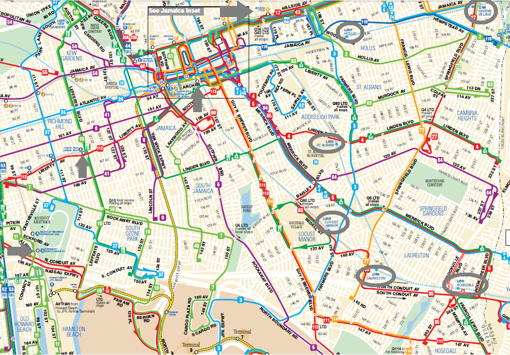 bus map annotated